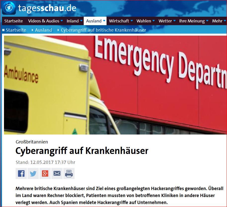 Quelle: https://www.tagesschau.de/ausland/cyberangriff-britische-krankenhaeuser-101.html