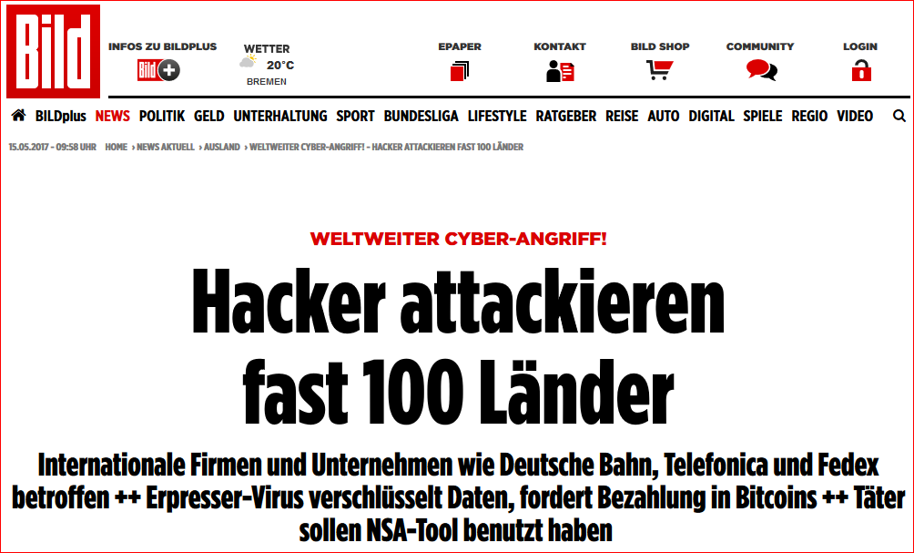 Quelle: http://www.bild.de/news/ausland/hacker-angriff/globale-hacker-attacke-51722064.bild.html