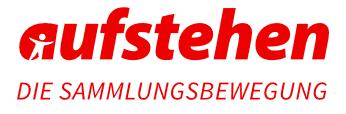 Quelle: https://www.aufstehen.de